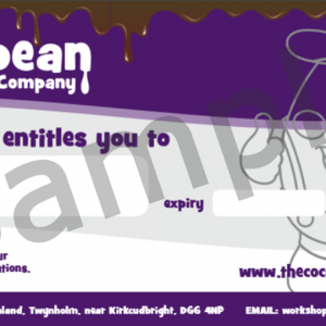 sample gift voucher £10