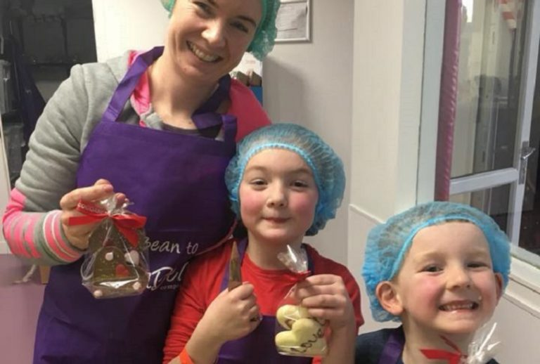 family chocolate workshop