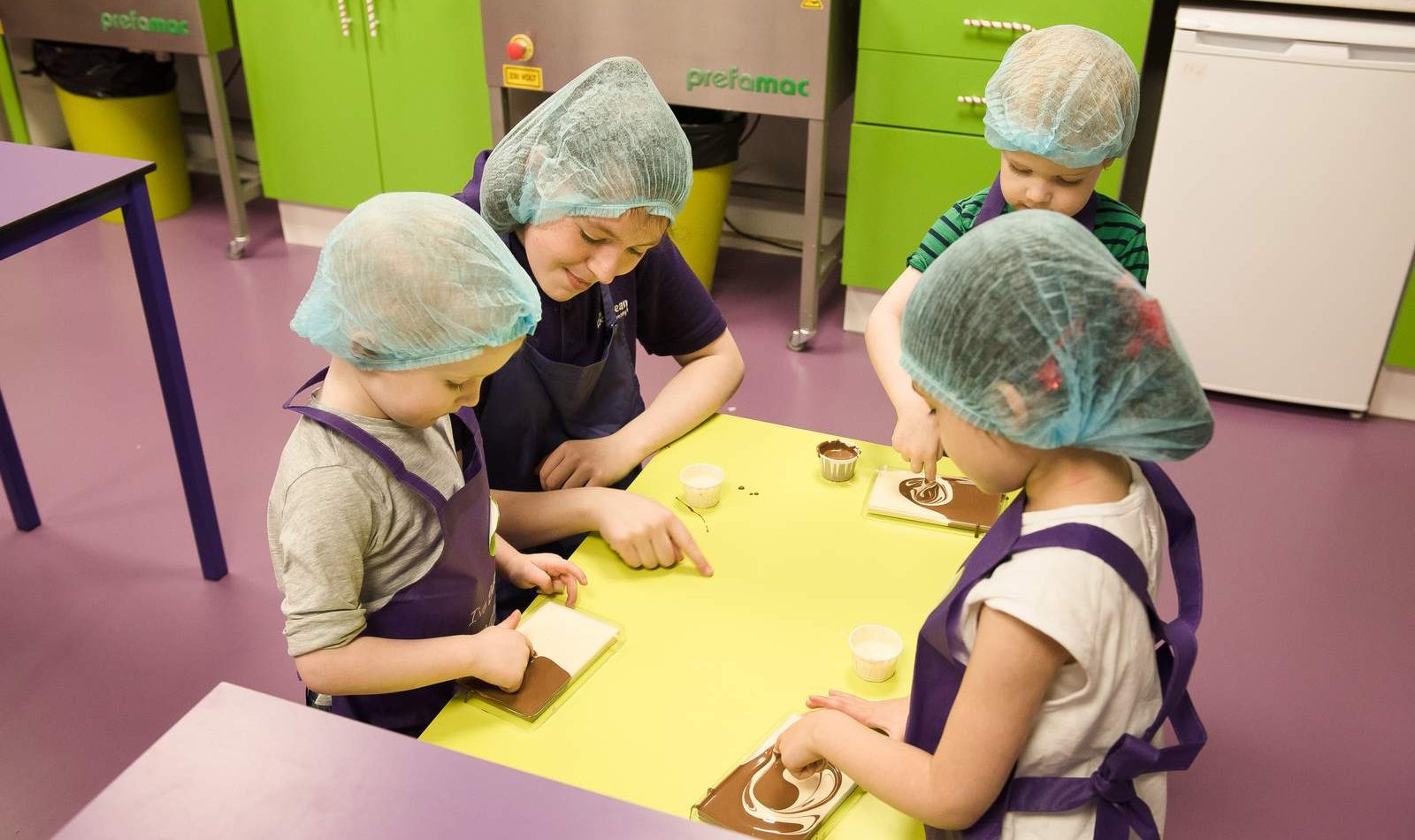Children's chocolate workshop