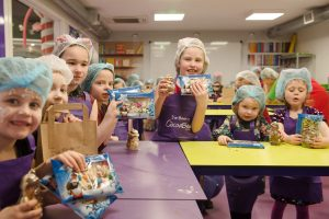 childrens chocolate workshop