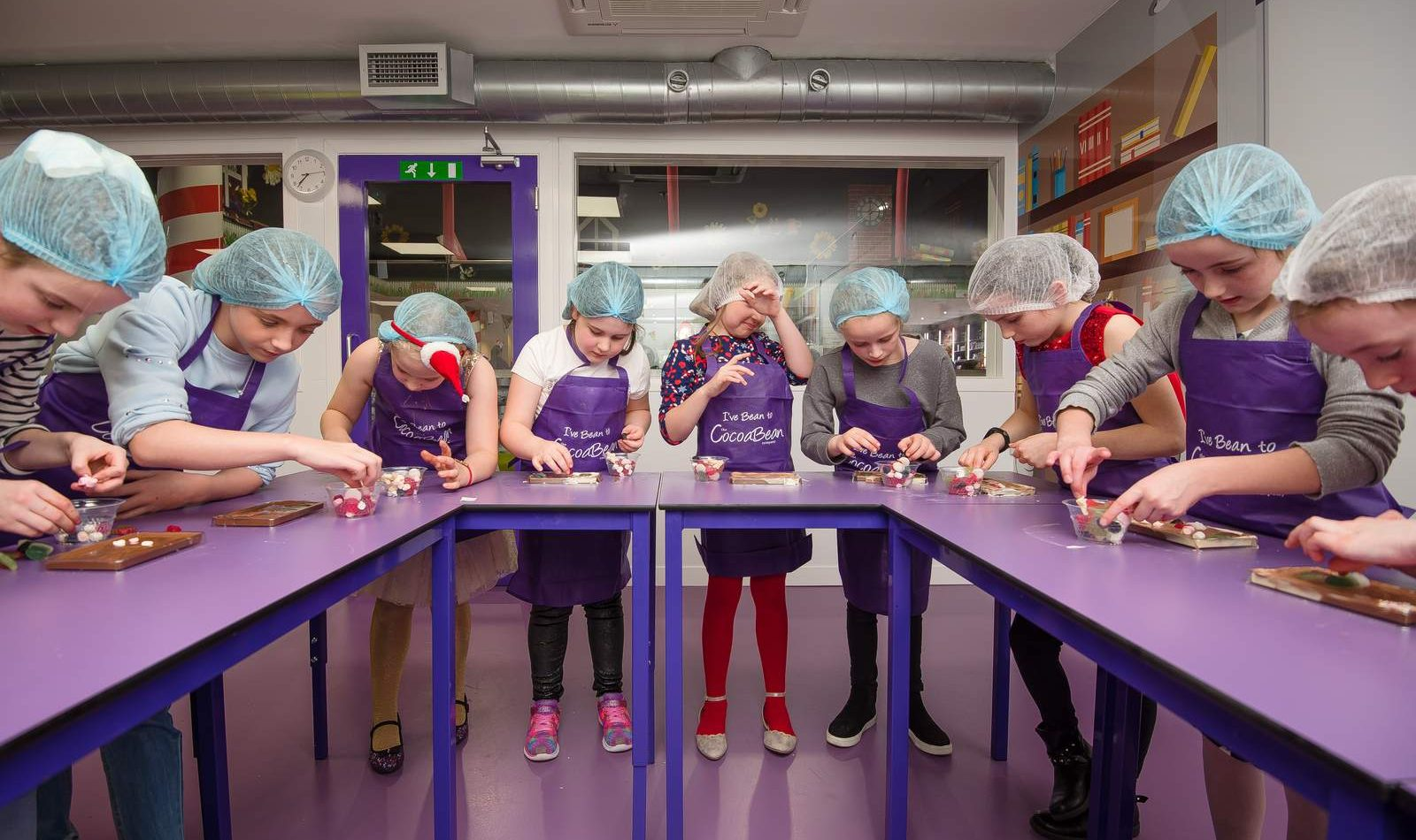 Children's chocolate workshop in glasgow
