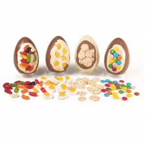 kids easter egg with decoration