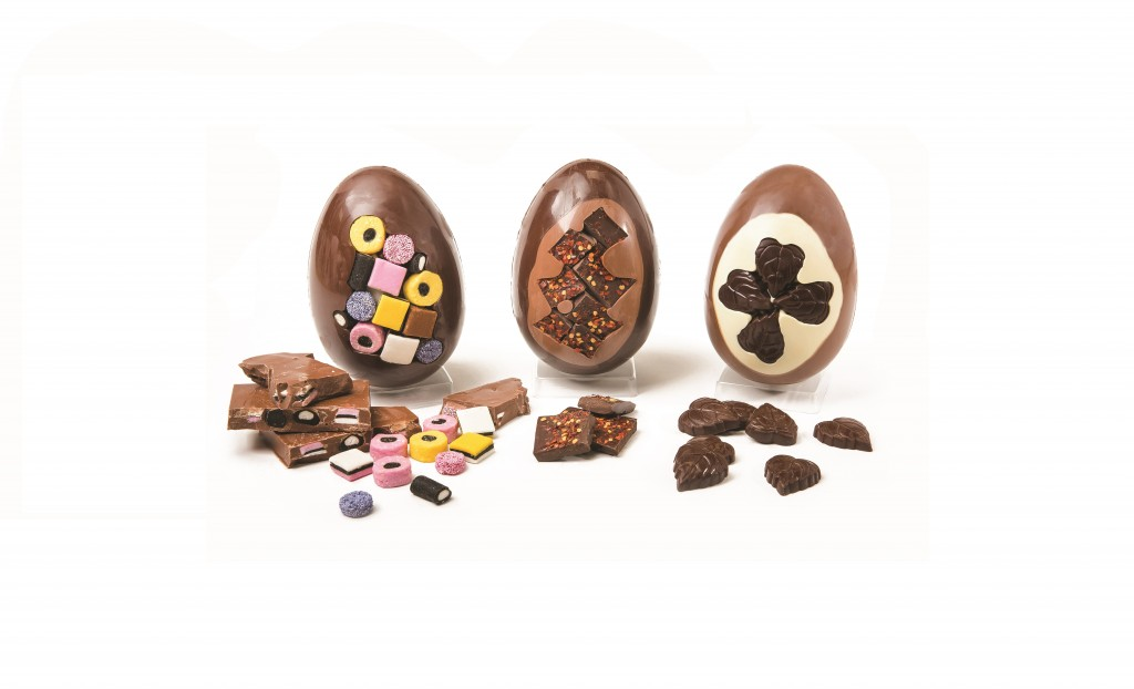 Large choc easter egg with decoration