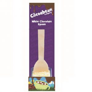 milk choc spoon stirrer