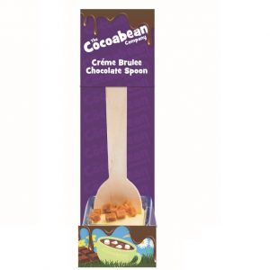 creme brulee flavoured spoon stirrer