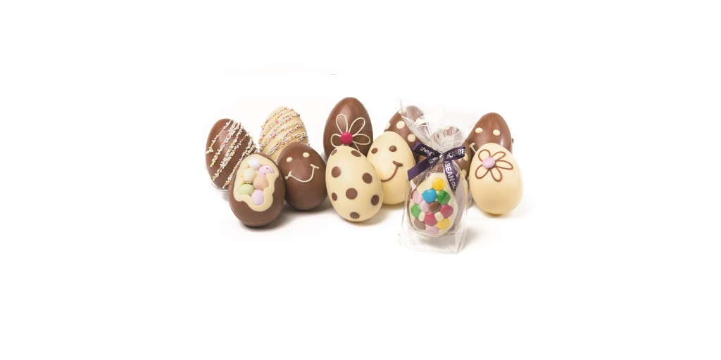 mixed mini easter eggs