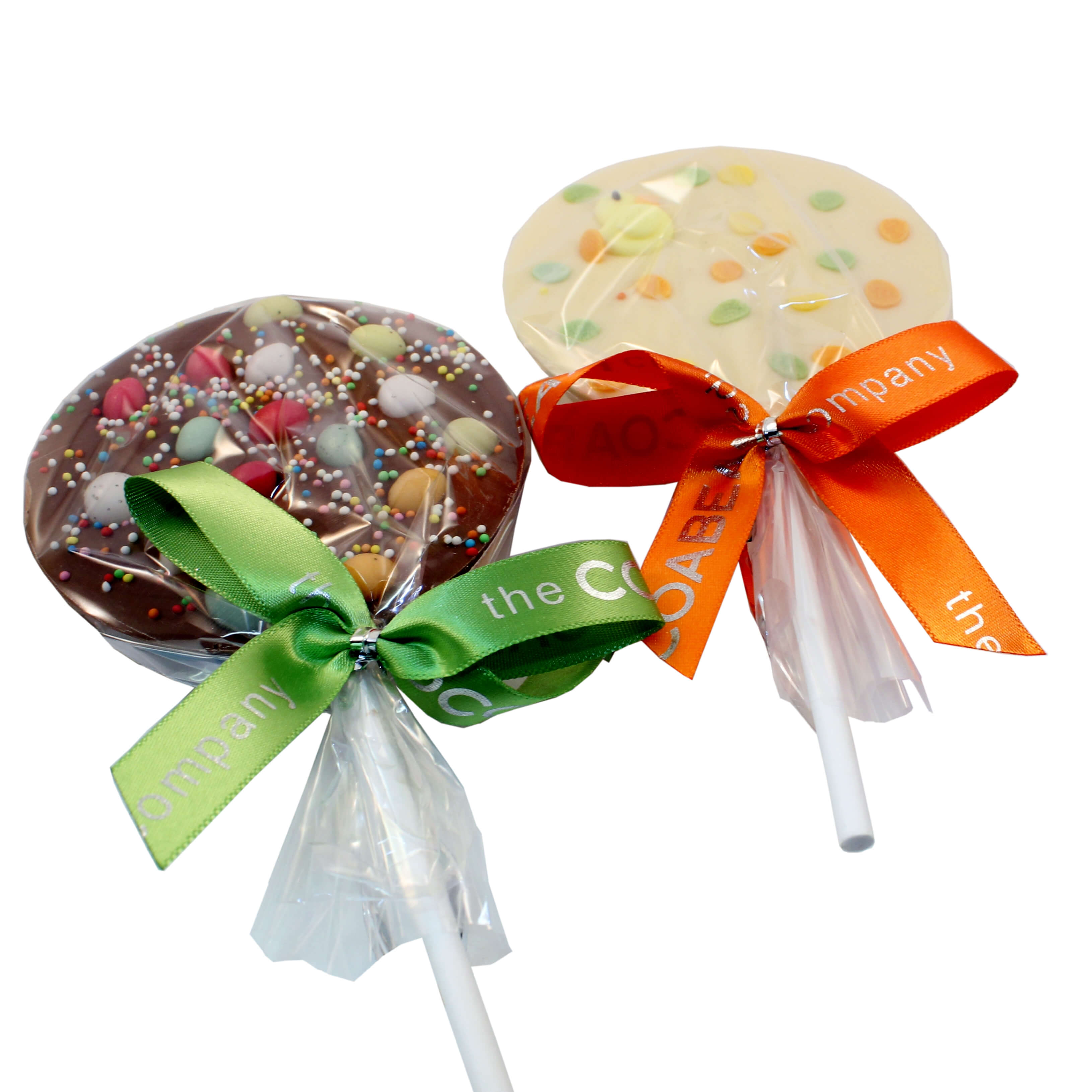 Round easter lollies