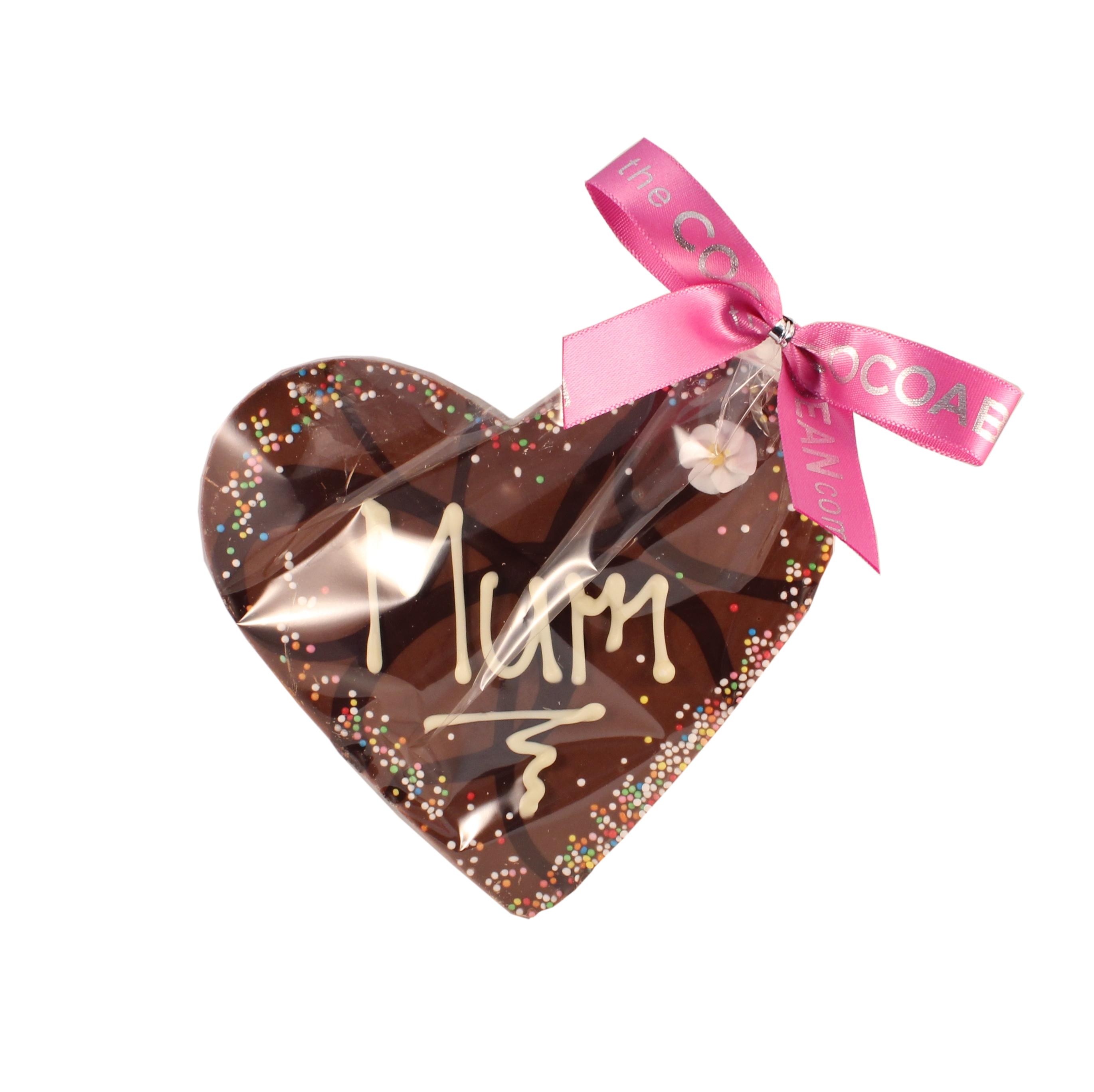 chocolate heart mum