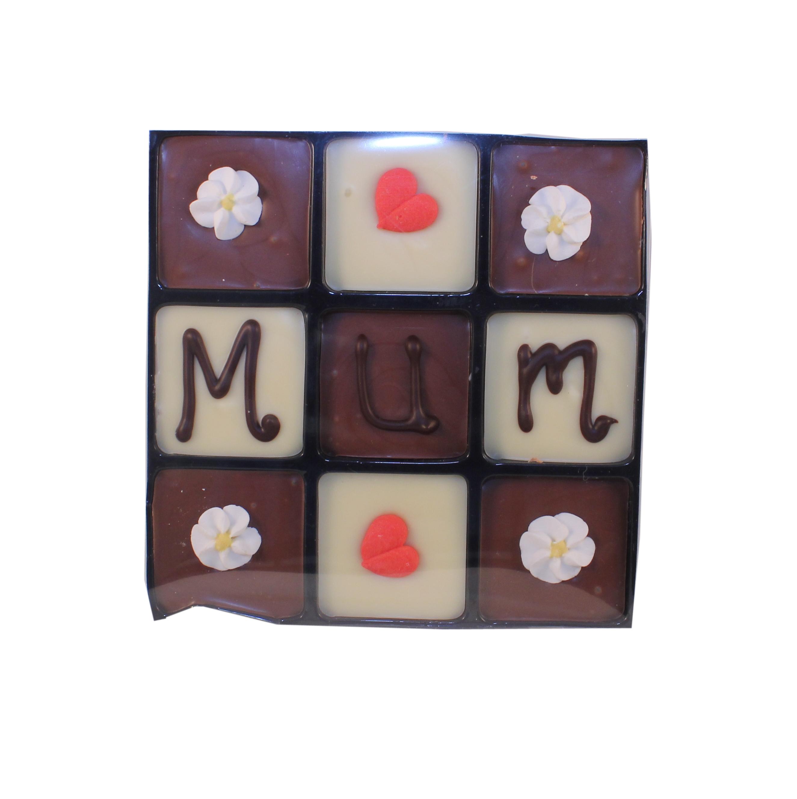 9 chocoaltes mum