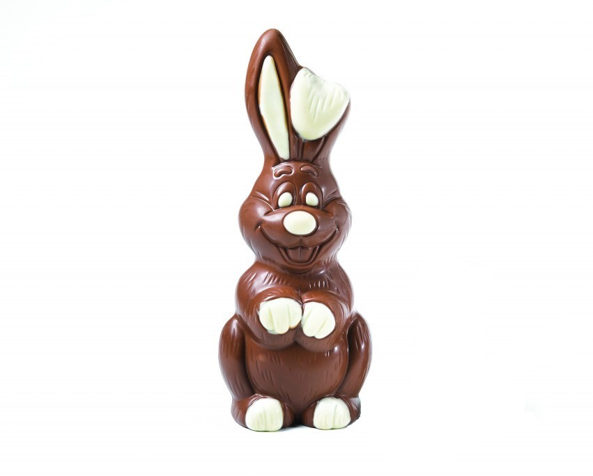 chocolate easter bunny cocoabean
