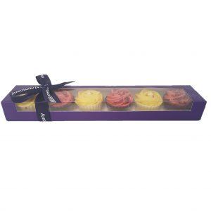 lemon meringue pie & raspberry ripple cupcakes
