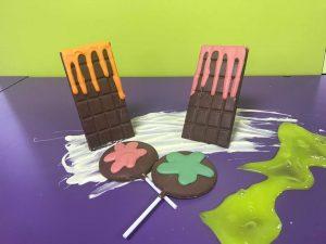 slime chocolate workshop
