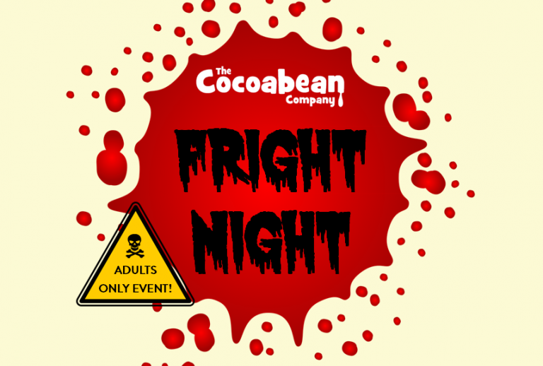 Fright Night Event Logo Red Blood Splat