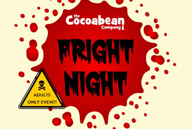 Fright Night Event Logo Red Blood Splat