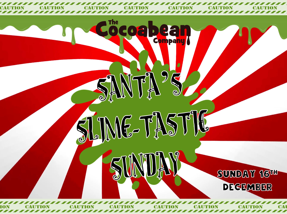 santa slime workshop header red and green