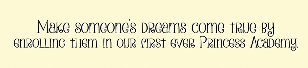 make someone's dreams come true text