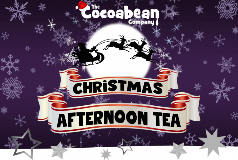 christmas afternoon tea at the cocoabean company