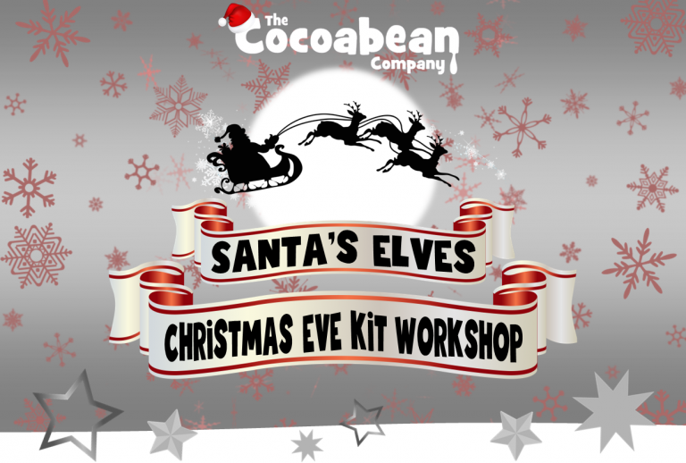 christmas eve kit workshop at the cocoabean