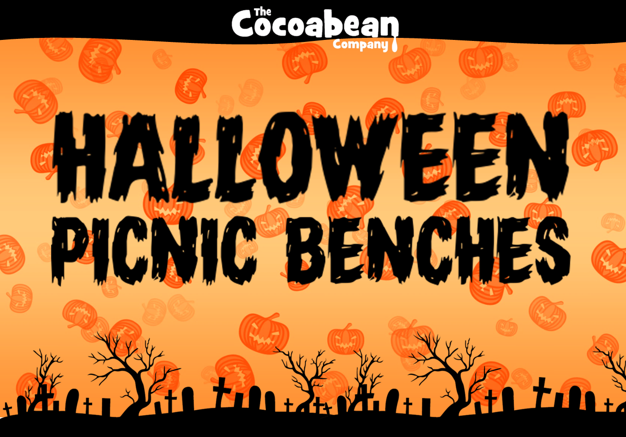 halloween picnic benches header cocoabean