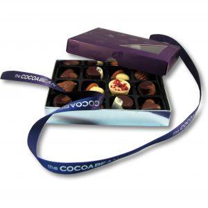 box of cocoabean chocolates 12