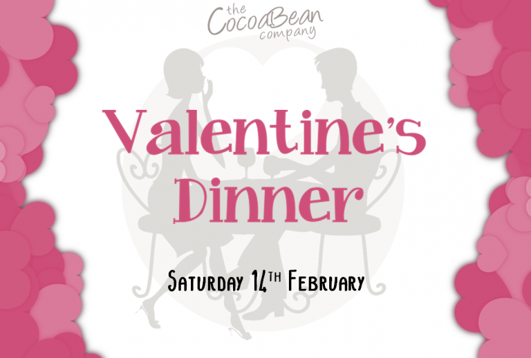 cocoabean company valentines dinner header
