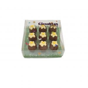 9 dark chocolate fondant mini eggs cocoabean
