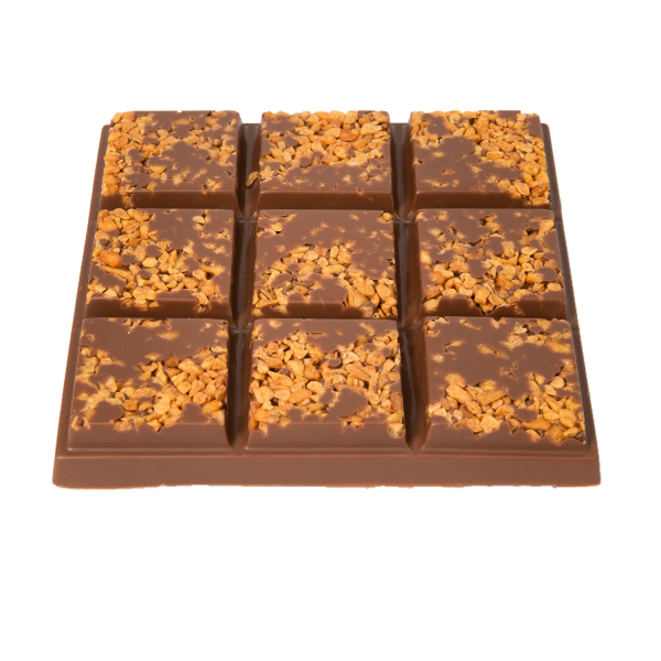 honeycomb milk chocolate slab