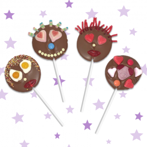 cocoabean chocolate lollipop making kit
