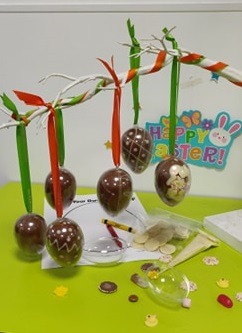 hanging egg kit