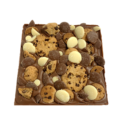 cookie dough chocolate slab cocoabean