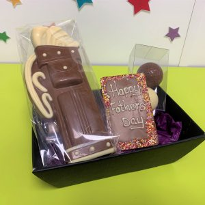 golf themed fathers day hamper cocoabean