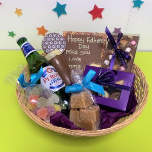 hamper basket fathers day cocoabean