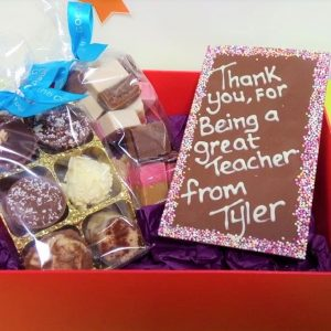 red box hamper best teacher