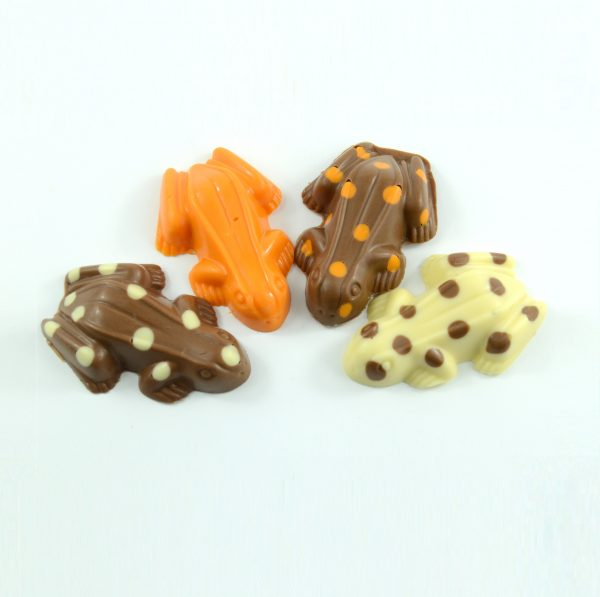 four chocolate frogs