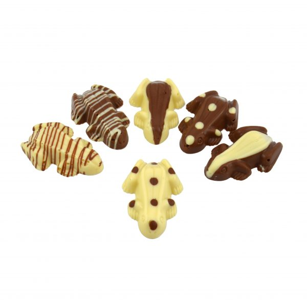 six chocolate frogs