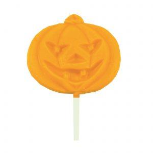 orange chocolate pumpkin lolly