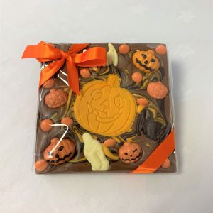 halloween chocolate chunky slab