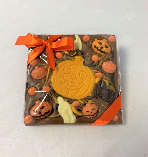 halloween chocolate chunky slab