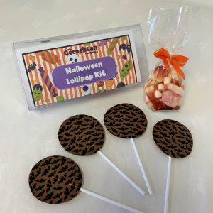 CHOCOLATE LOLLIPOP MAKING KIT HALOWEEN THEMED