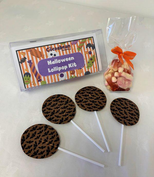 CHOCOLATE LOLLIPOP MAKING KIT HALOWEEN THEMED
