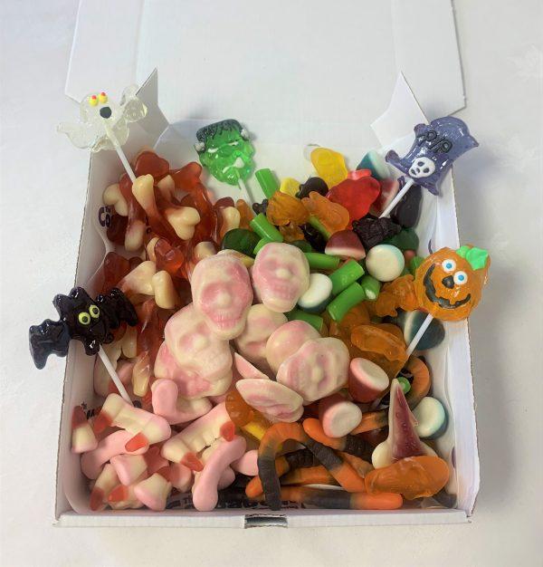 halloween themed sweetie box