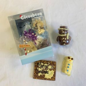 christmas workshop kit chocolate snowman