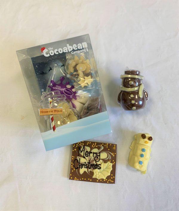 christmas workshop kit chocolate snowman