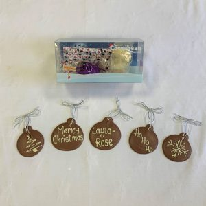 Christmas bauble making kit