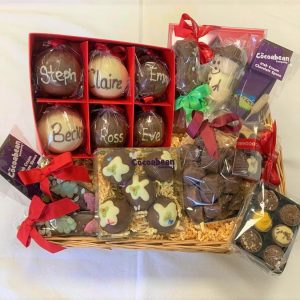 luxury xmas chocolate hamper