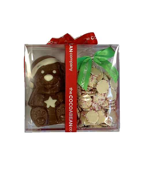 chocolate teddy & sweets set