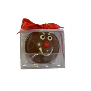 reindeer chocolate bomb in a box