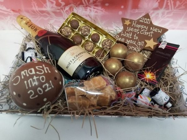 new year hogmany celebration hamper