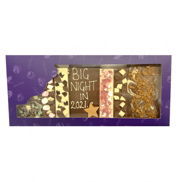 selection box of chocolate bars cocoabean