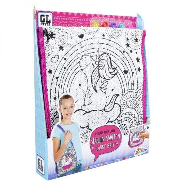 graffix sequin bag toy set